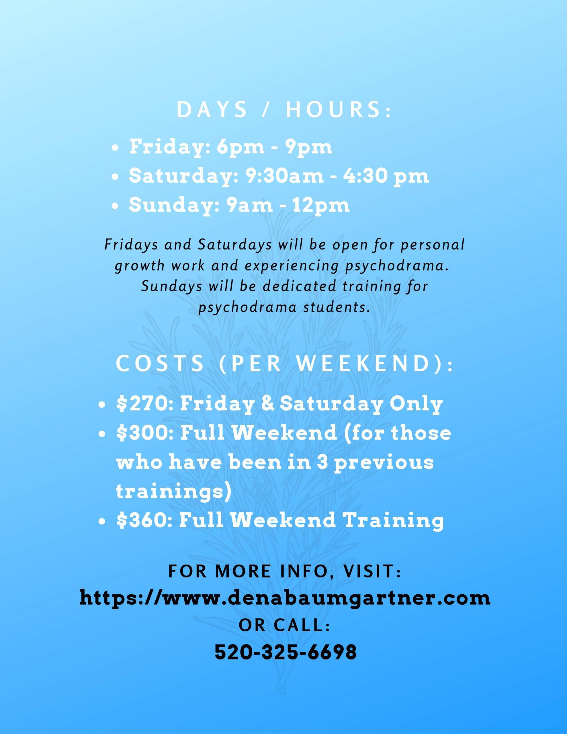 2019 - 2020 Psychodrama Training Flyer-page-002
