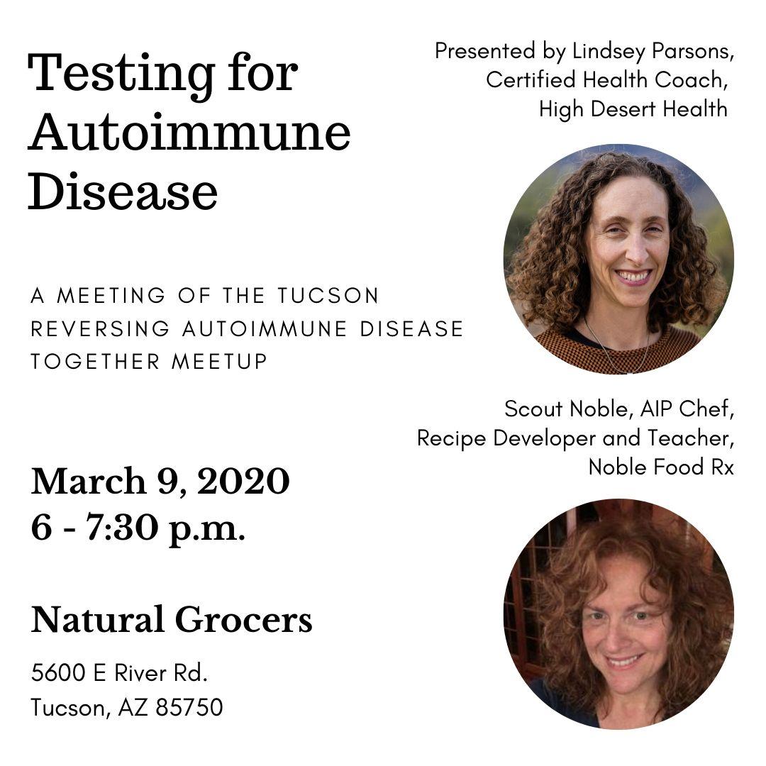 Testing for Autoimmune Disease - SM
